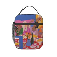 Meal Lunch Bag for Women/Men/Adult,Very suitable for snacks Reusable Large Lunch Box,11x21x26cm,Polyester.