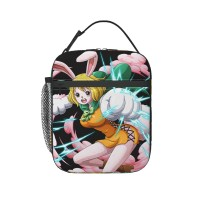 One Piece Solitia Lunch Bag for Women/Men/Adult,Very suitable for work and on the go Reusable Large Lunch Box,11x21x26cm,Polyester.